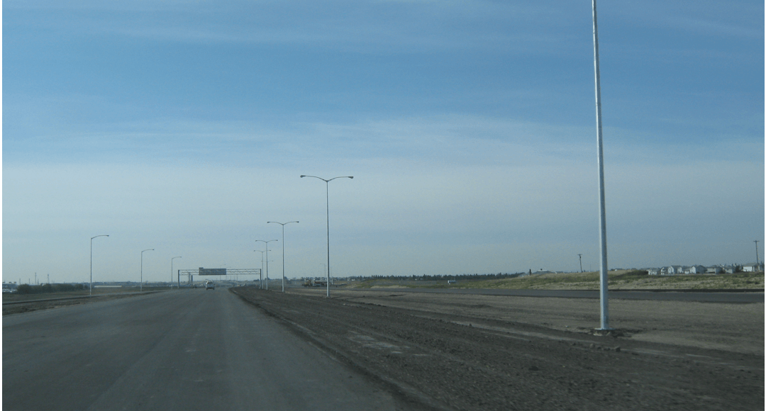 Calgary Ring Road Street Lighting Brt Construction Ltd
